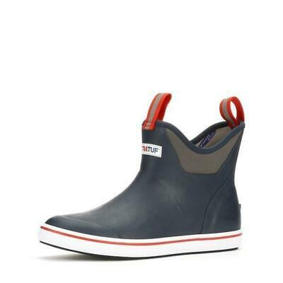 £65.43 • Buy Xtratuf 6  Ankle Deck Boots - Men's - 11 / Navy/Red