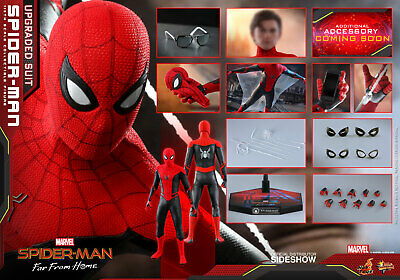 $ CDN390.49 • Buy Spider-Man Far From Home 12  Figure MMS 1/6 Scale - (Upgraded Suit) Hot Toys