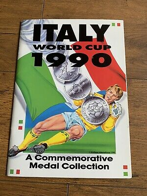 £69.99 • Buy Italy World Cup 1990 Coin Set Collection Complete Italia 90 Commemorative Medal