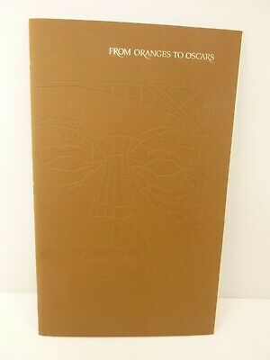 $124.99 • Buy From Oranges To Oscars 1968 Booklet Home Live Savings Association Millard Sheets