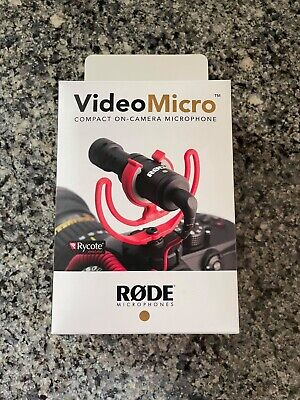 £40.29 • Buy Rode VideoMicro Compact On Camera Microphone