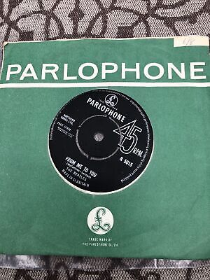 £10 • Buy THE BEATLES 45 Vinyl Single  FROM ME TO YOU   PARLOPHONE R 5015