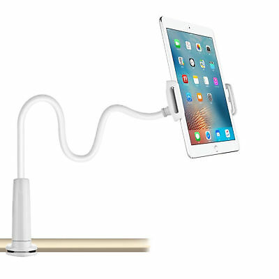 £5.49 • Buy 360 Gooseneck Table Bed Clamp Stand Holder Mount For IPad Tablet Flexible Arm UK