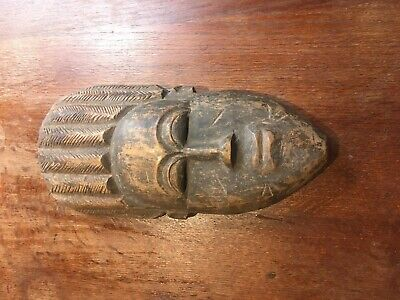 £16 • Buy African Mask Of Unknown Origin Hand Carved