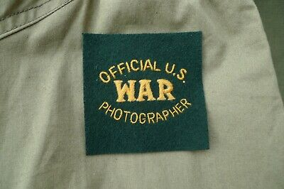 £9.95 • Buy Official US War Photographer  - Patch - WW2