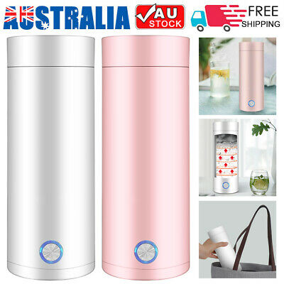 AU27.99 • Buy Portable Electric Kettles 400ml Thermal Cup Hot Water Tea Coffee Heater Travel