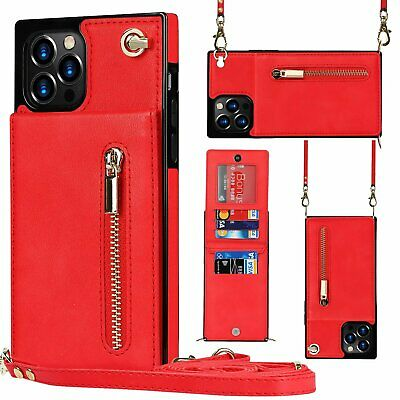 AU17.89 • Buy With Neck Strap Crossbody Phone Case Cover Credit Card Holder For S20 FE 5G