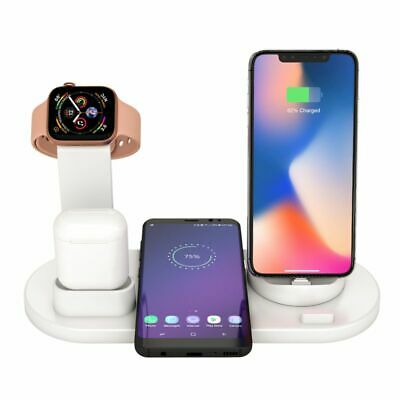 AU26.31 • Buy 4 In 1 Wireless Charging Station Dock Charger Stand For IWatch IPhone Air Pods