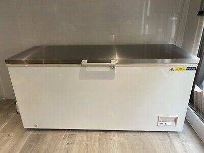 £549 • Buy Polar Chest Freezer With Stainless Steel Lid 516Ltr Commercial Catering