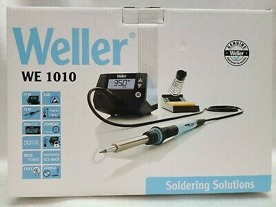 £79.87 • Buy Weller WE 1010NA 1-Channel Soldering Station With Soldering Iron And Safety