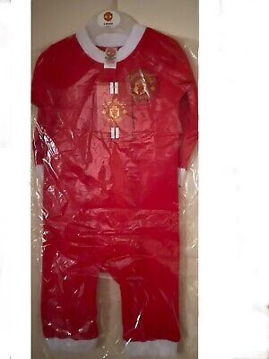 £12.99 • Buy New Official Manchester United Baby Sleepsuit   9-12months