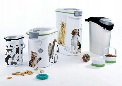 £23.99 • Buy Curver 10 Kg White Food Storage Container Large Pet Food Dog Cat  Supplies Toys