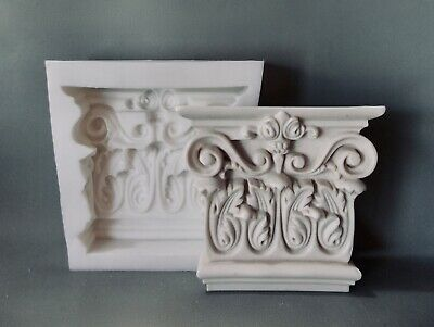 £74.95 • Buy Ornate Wall Shelf Corbels Flexible Silicone Rubber Mould Resin Plaster Cement