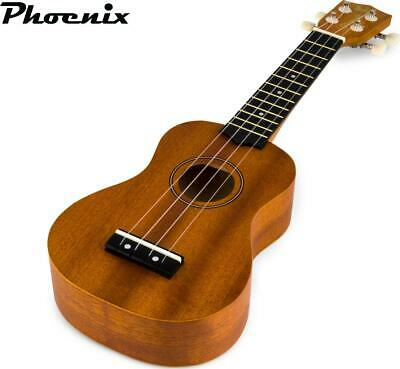 AU38.40 • Buy Ukulele Classic Fun Musical Instrument Learn Play Wooden Construction Mahogany