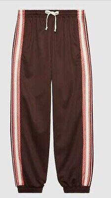 $397.58 • Buy Gucci Track Trousers G Rhombus Patch Size M Made In Italy 100% Genuine