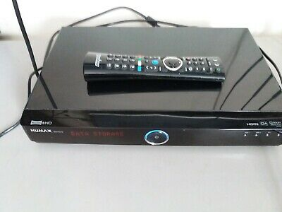 £60 • Buy Humax HDR-FOX T2 500gb With Remote Control.