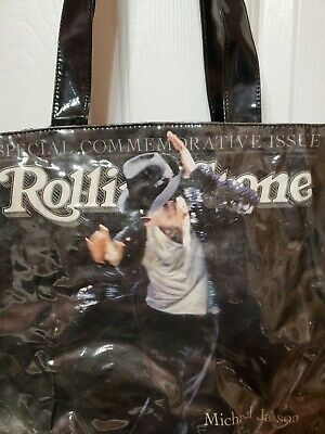 £12.52 • Buy Michael Jackson Rolling Stone Special Commemorative Issue Tote Bag Collector