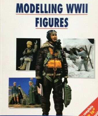 $9.99 • Buy Modelling WWII WW2 Figures Osprey 9 Reference Book How To Model Military Clay