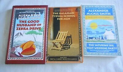 AU24 • Buy No 1 Ladies Detective Agency Novels By Alexander McCall Smith, Total Of 3 Books
