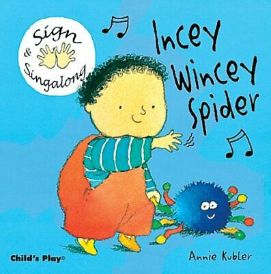 £6.05 • Buy Incey Wincey Spider: BSL (British Sign Language) (Board Book 2004) New Book