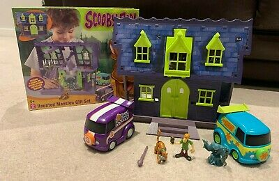 £34.95 • Buy Scooby Doo Haunted Mansion Set Figures Complete Mystery Machine Playset Figures