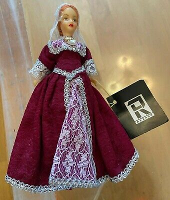 £5.99 • Buy Vintage Rexard Doll - CATHERINE HOWARD Red Dress With Tags