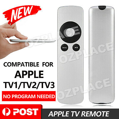 AU5.45 • Buy Universal Replacement Infrared Remote Control Compatible For Apple TV1 TV2 TV3