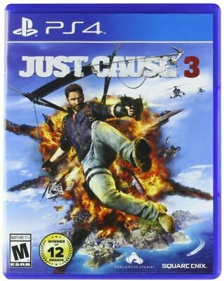 £3.99 • Buy Just Cause 3 (PlayStation 4, 2015)