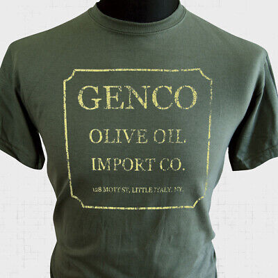 £10.99 • Buy Genco Olive Oil T Shirt The Godfather Retro Movie Corleone Cool