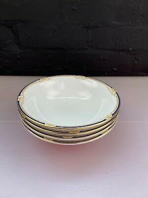 £39.99 • Buy 4 X Wedgwood Cavendish R4680 Cereal Bowls 15.5 Cm Wide Last Set Available