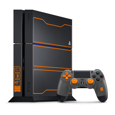 AU620.95 • Buy PlayStation 4 PS4 1TB Limited Edition COD Call Of Duty Black Ops 3 Console NEW