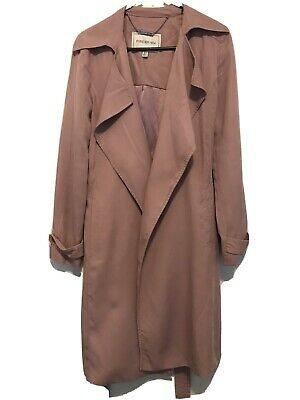 AU58 • Buy Forever New Mauve Pink Trench Coat Size 8