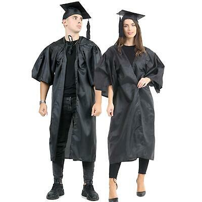 £19.99 • Buy Adults Bachelor Graduation Gown Mortarboard Hat School Collage University Robe