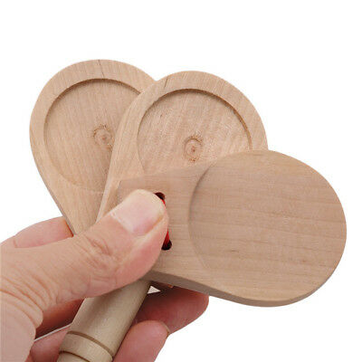 £3.69 • Buy Wooden Boards Rhythm Stick Castanets Learning Education Musical Teach Aid Toy IT