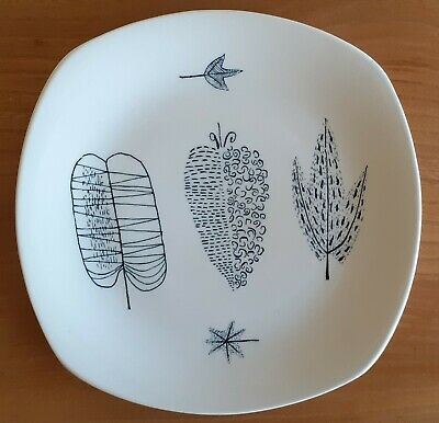 £15.99 • Buy Midwinter 8  Breakfast Plate NATURE STUDY By Terence Conran 1955