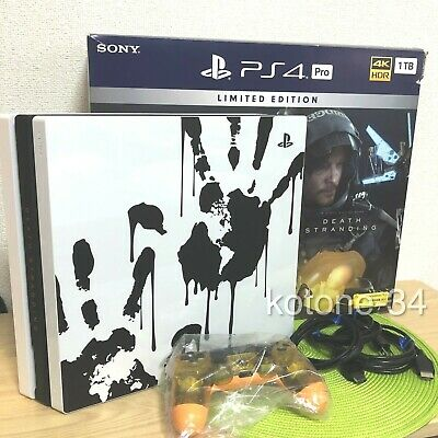 AU551.64 • Buy Sony PS4 Pro Death Stranding Limited Edition PlayStation 4 Pro Console Used