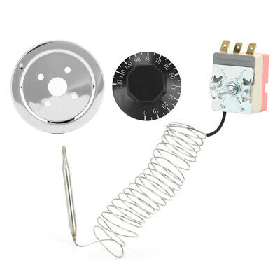 £11.75 • Buy Adjustable Radiator Fan Thermostat Switch Coolant Temperature Controller Kit Uk