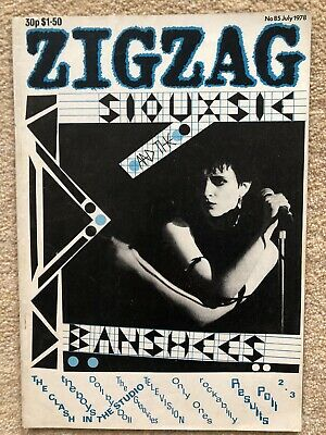 £10 • Buy Zigzag Magazine Siouxsie, The Clash, The Boys No 78 July 1978