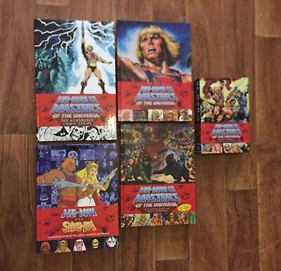 £350 • Buy He-Man And The Masters Of The Universe: Dark Horse X5 Books Hardcover Super Rare