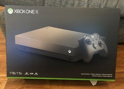 AU586.37 • Buy Xbox One X 1TB Gold Rush Special Edition Console Boxed