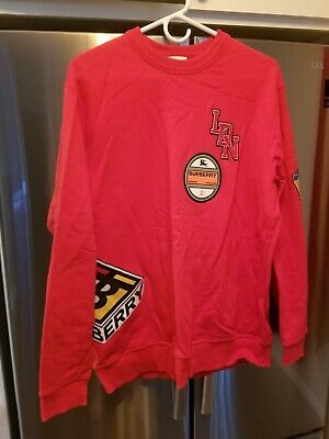 $95 • Buy Used - Mens Burberry Sweatshirt - Red - Size Medium - Free Shipping - See Photos