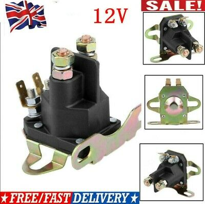 £7.85 • Buy 12V 4-pole Starter Solenoid Relay Motor For BRIGGS STRATTON Motorboat Lawn Mower