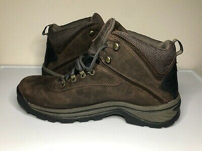 £35.94 • Buy Timberland Mens Ledge Brown Leather Waterproof Hiking Work Boots Size 12 M