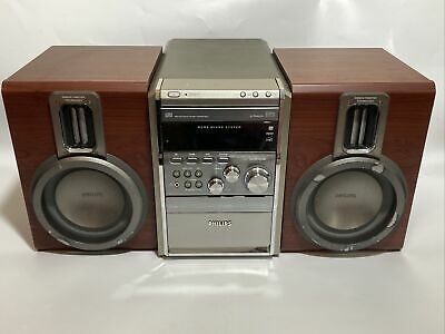 £75 • Buy Philips MCM8/25 Micro Hi-Fi Stereo CD Aux System With Neodymium Ribbon Tweeters