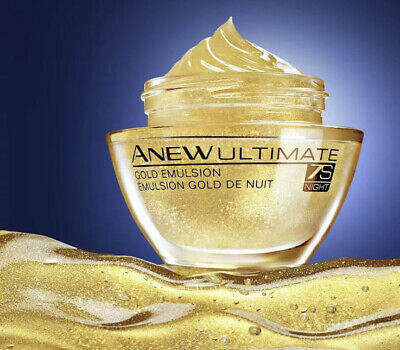 £6.99 • Buy Avon Anew Ultimate  Gold Emulsion Night Cream - New And Sealed