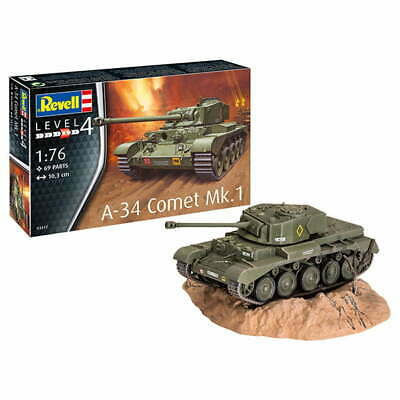£8.49 • Buy Revell 03317 A-34 Comet Mk.1 1/76 Scale Brand New