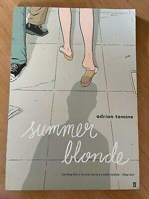 £9.99 • Buy Summer Blonde By Adrian Tomine Graphic Novel Pb