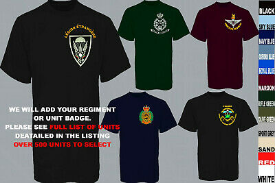 £18.50 • Buy Units A To D Army Royal Navy Air Force Marines Raf Regiment T Shirt Xs To 5xl