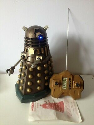 £60 • Buy Remote Control Assault 12  Dalek Dr Doctor Who Bbc Character Options *read*