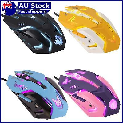 AU18.36 • Buy Computer Mouse, USB Wired 6 Buttons Ergonomic 2400dpi Optical Gaming Mice